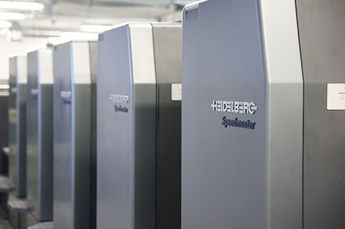 Maszyna drukująca Speedmaster 102